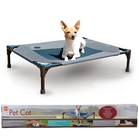 K&H Pet Products K&H Pet Cot - Gray