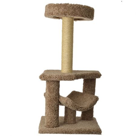 North American Pet Products Classy Kitty Cat Condo Tree with Cradle
