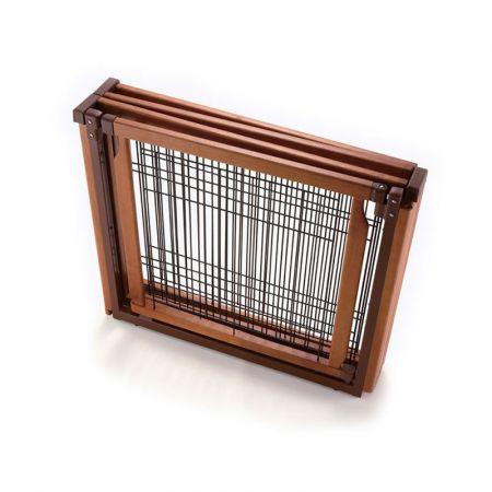 Richell Richell Convertible Elite 6-Panel Pet Gate - Autumn Matte