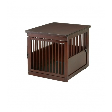 Richell Richell Wooden End Table Pet Crate