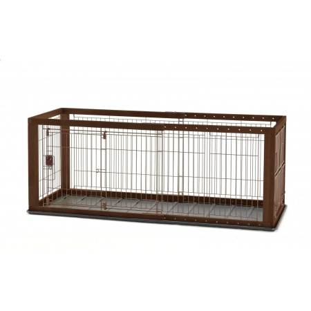Richell Richell Expandable Pet Crate with Floor Tray
