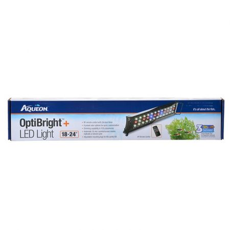 Coralife Aqueon OptiBright Plus LED Aquarium Light Fixture