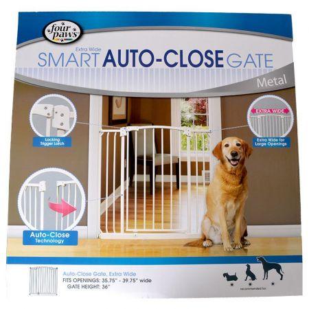 Four Paws Four Paws Extra Wide Smart Auto Close Gate