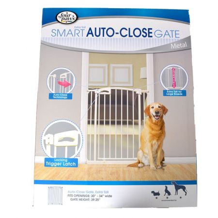Four Paws Four Paws Extra Tall Smart Auto Close Gate