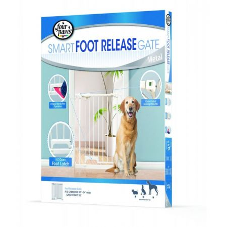 Four Paws Four Paws Smart Foot Release Gate - Metal
