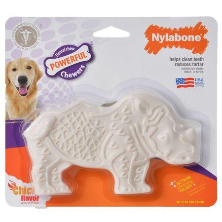 Nylabone Nylabone Rhino Dental Chew Toy