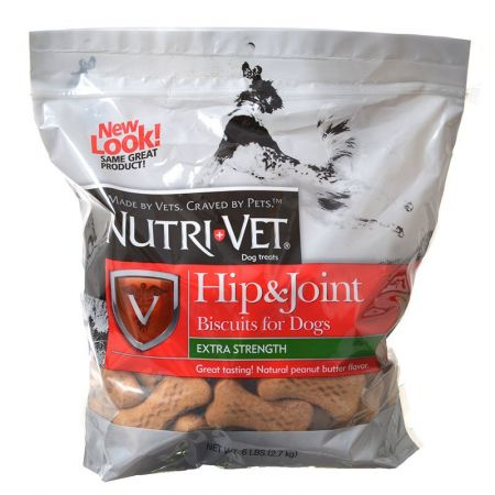 Nutri-Vet Hip & Joint Biscuits for Dogs - Extra Strength alternate view 1