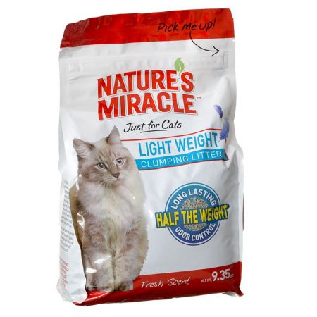 Natures Miracle Nature's Miracle Just for Cats Light Weight Clumping Litter - Fresh Scent