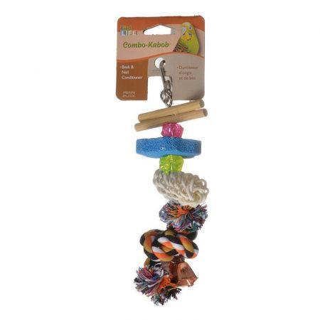 Penn Plax Penn Plax Bird Life Combo-Kabob Parakeet Toy