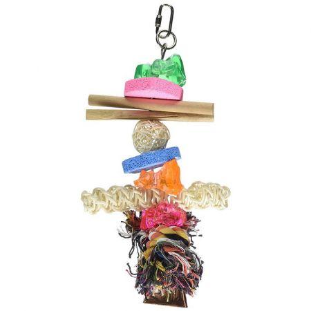 Penn Plax Penn Plax Bird Life Combo-Kabob Parrot Toy