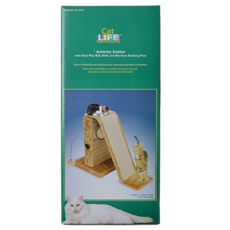 Penn Plax Penn Plax Cat Life Activity Center with Slide & Post