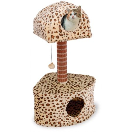 Penn Plax Penn Plax Cat Life Leopard Print Lounge & Activity Center