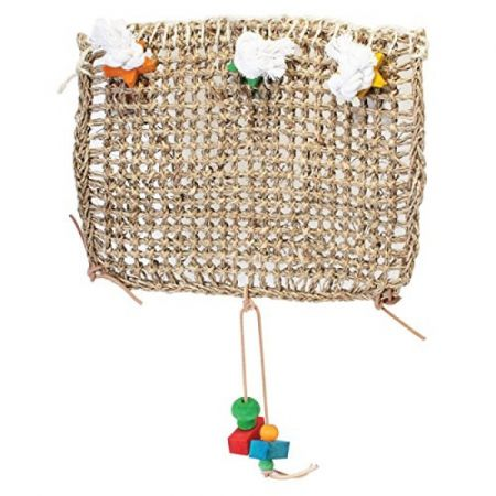Penn Plax Penn Plax Bird Life Natural Weave Bird Cage Climbing Exerciser
