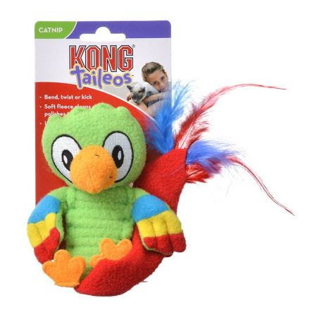 Kong Kong Taileos Catnip Toy - Parrot