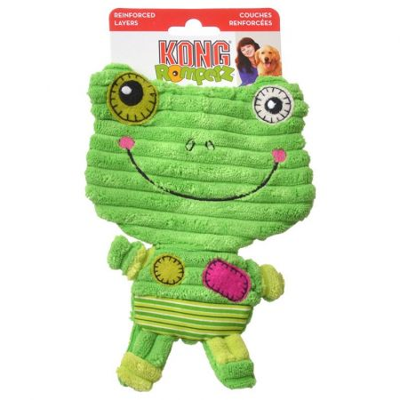 Kong Kong Romperz Dog Toy - Frog