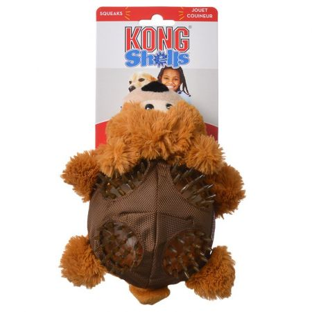 Kong Kong Shells Textured Dog Toy - Bear