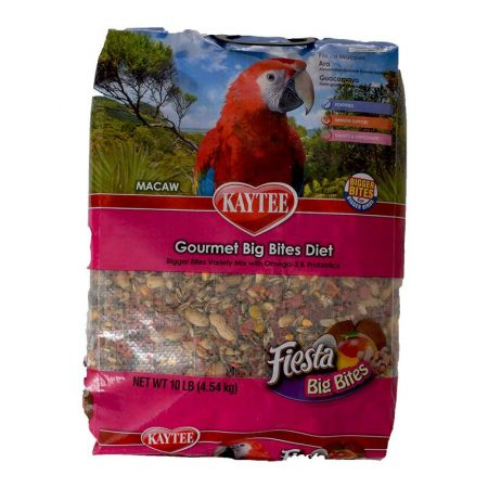 Kaytee Kaytee Fiesta Macaw Gourmet Big Bites Diet