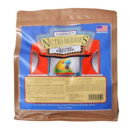 Lafeber Lafeber Gourmet Nutri-Berries with Popcorn for Parrots