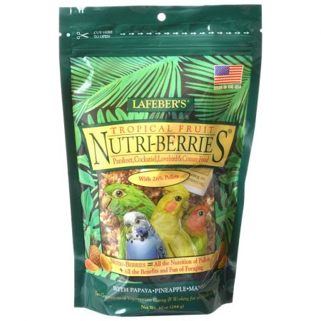 Lafeber Lafeber Tropical Fruit Nutri-Berries Parakeet, Cockatiel & Conure Food