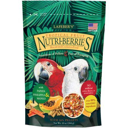 Lafeber Lafeber Tropical Fruit Nutri-Berries Macaw & Cockatoo Food