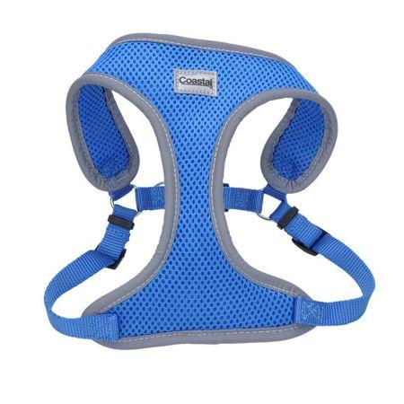 Coastal Pet Coastal Pet Comfort Soft Reflective Wrap Adjustable Dog Harness - Blue Lagoon