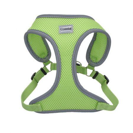 Coastal Pet Coastal Pet Comfort Soft Reflective Wrap Adjustable Dog Harness - Lime
