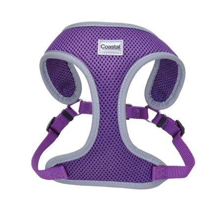 Coastal Pet Coastal Pet Comfort Soft Reflective Wrap Adjustable Dog Harness - Purple
