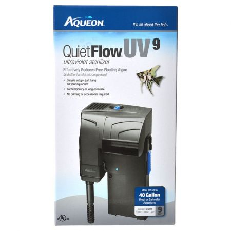 Aqueon Aqueon QuietFlow UV Sterilizer Power Filter