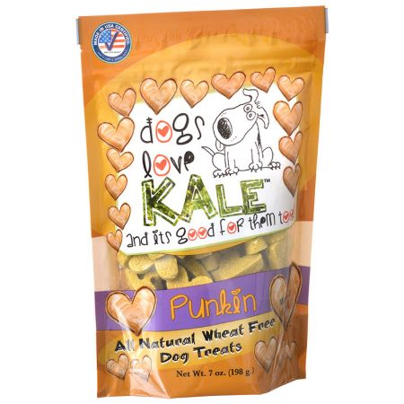 Dogs Love Kale Dogs Love Kale All Natural Wheat Free Dog Treats - Punkin