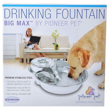 Pioneer Pet Pioneer Big Max Stainless Steel Drinking Fountain