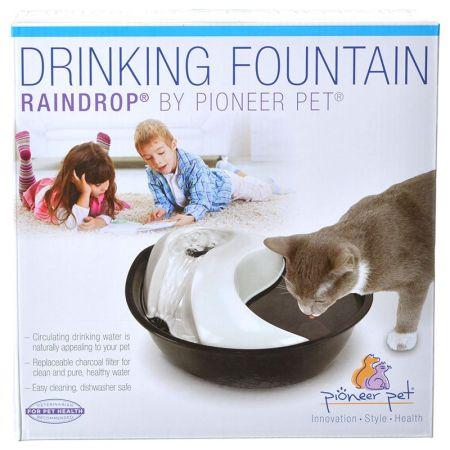 Pioneer Pet Pioneer Raindrop Plastic Drinking Fountain
