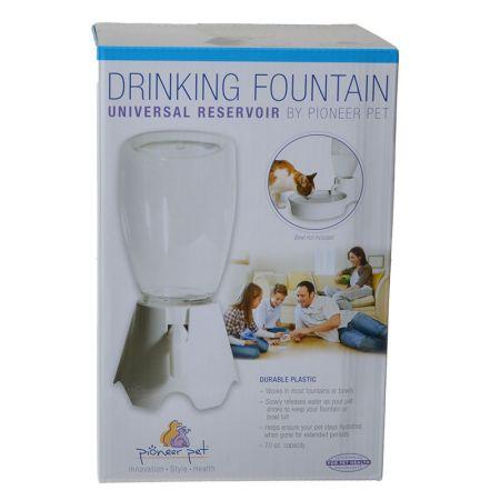 Pioneer Pet Pioneer Universal Reservoir Drinking Fountain - White