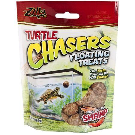 Zilla Turtle Chasers Floating Treats - Shrimp