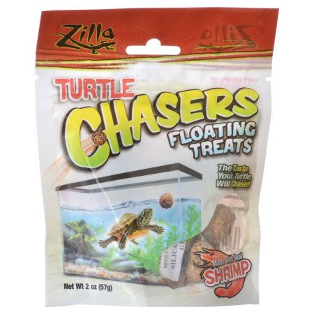 Zilla Zilla Turtle Chasers Floating Treats - Shrimp