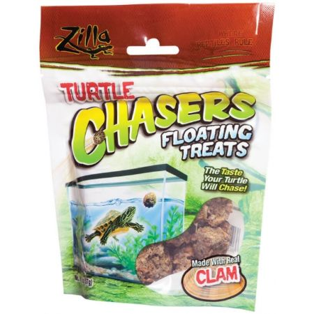 Zilla Zilla Turtle Chasers Floating Treats - Clam