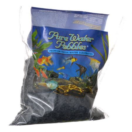 Pure Water Pebbles Pure Water Pebbles Aquarium Gravel - Jet Black