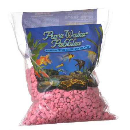Pure Water Pebbles Pure Water Pebbles Aquarium Gravel - Neon Pink