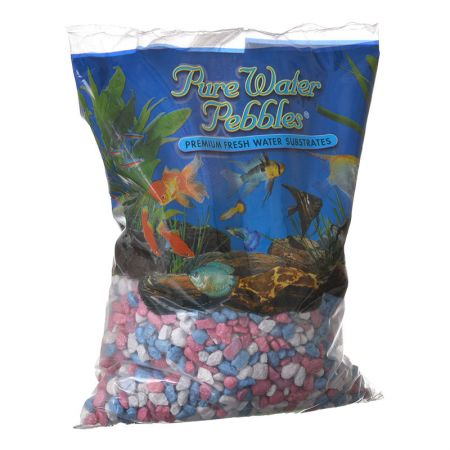 Pure Water Pebbles Pure Water Pebbles Aquarium Gravel - Pastel Rainbow Frost