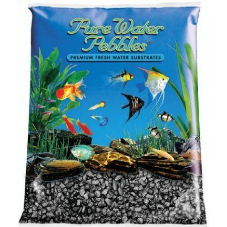 Pure Water Pebbles Pure Water Pebbles Aquarium Gravel - Black Frost