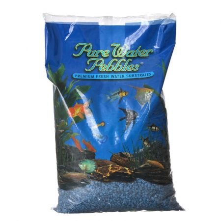 Pure Water Pebbles Pure Water Pebbles Aquarium Gravel - Deep Blue Frost