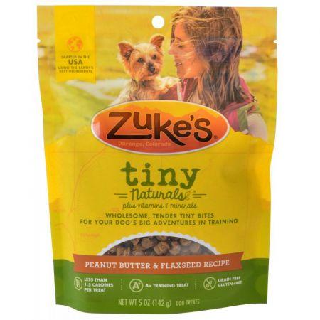 Zukes Zukes Tiny Naturals Dog Treats - Tasty Peanut Butter Recipe