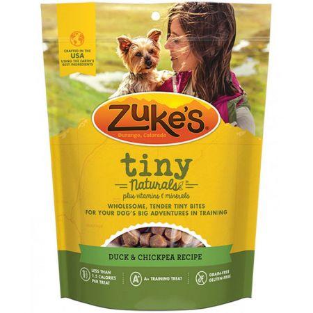 Zukes Zukes Tiny Naturals Dog Treats - Delightful Duck Recipe
