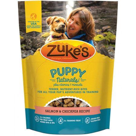 Zukes Zukes Puppy Naturals Dog Treats - Salmon & Chickpea Recipe
