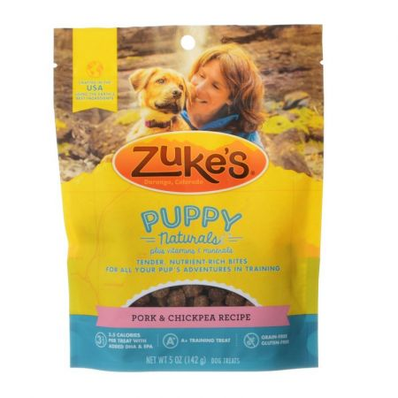 Zukes Zukes Puppy Naturals Treats - Pork & Chickpea Recipe