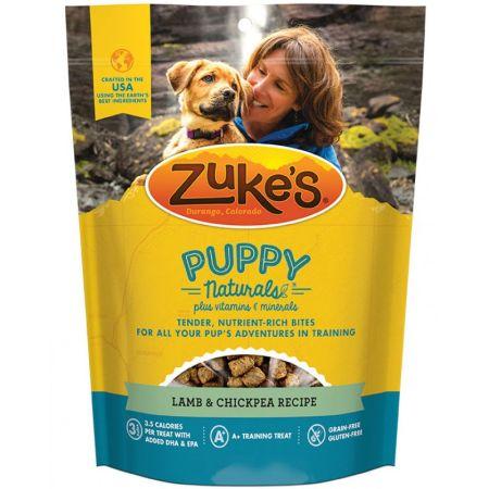 Zukes Zukes Puppy Naturals Dog Treats - Lamb & Chickpea Recipe