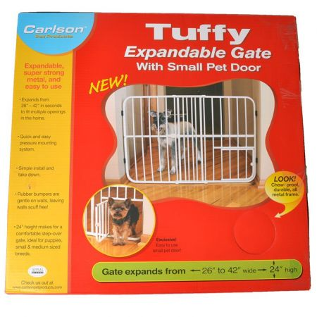 Carlson Pet Gates Carlson Tuffy Expandable Pet Gate with Door