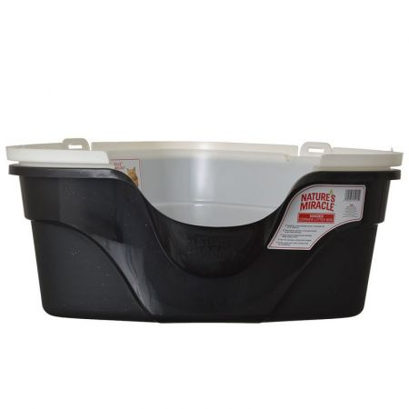 Natures Miracle Nature's Miracle Advanced Corner Hooded Litter Box