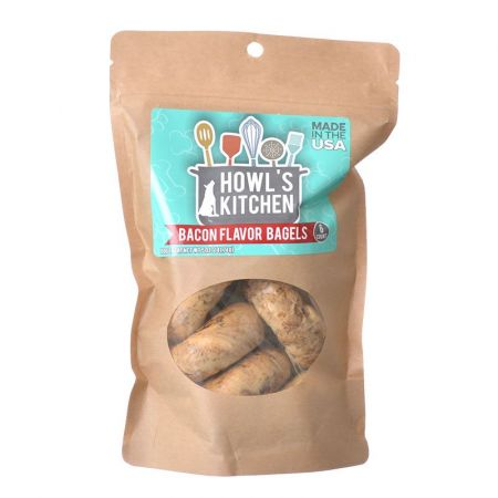 Howl's Kitchen Howl's Kitchen Bacon Flavor Bagels for Dogs
