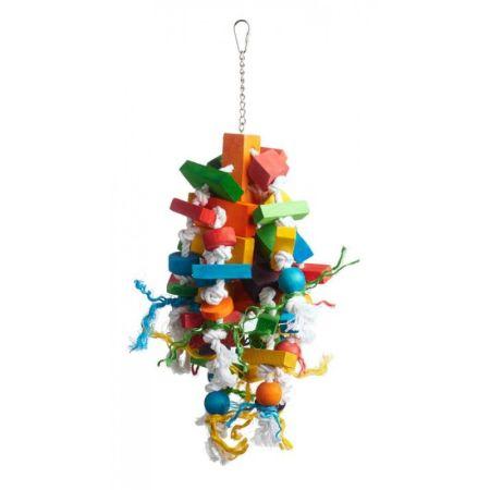 Prevue Prevue Bodacious Bites Wizard Bird Toy
