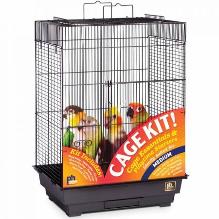 Prevue Prevue Playtop Bird Cage Kit